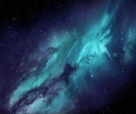 Fantasy beautiful space nebula Stock Photo 06