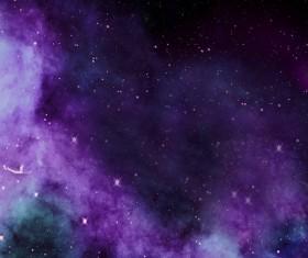 Fantasy beautiful space nebula Stock Photo 08