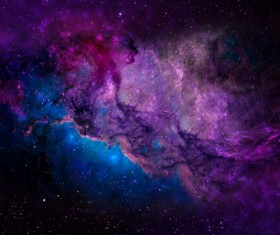 Fantasy beautiful space nebula Stock Photo 12