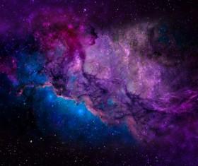 Fantasy beautiful space nebula Stock Photo 12