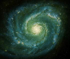 Fantasy beautiful space nebula Stock Photo 13