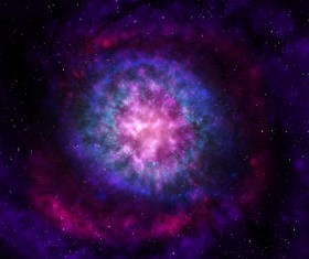 Fantasy beautiful space nebula Stock Photo 16