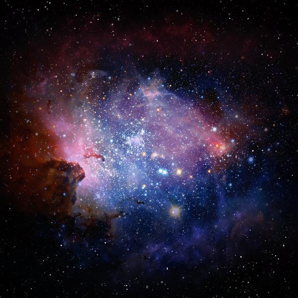 Fantasy beautiful space nebula Stock Photo 17