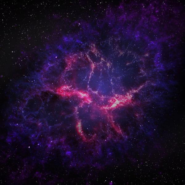 Fantasy beautiful space nebula Stock Photo 21
