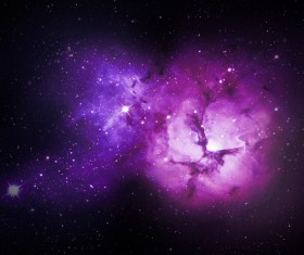 Fantasy beautiful space nebula Stock Photo 23