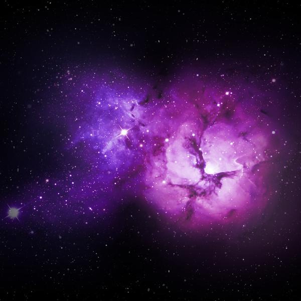 Fantasy beautiful space nebula Stock Photo 23