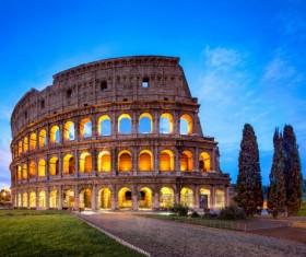 Fashion capital of Italy Stock Photo 02