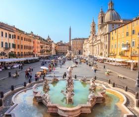 Fashion capital of Italy Stock Photo 03
