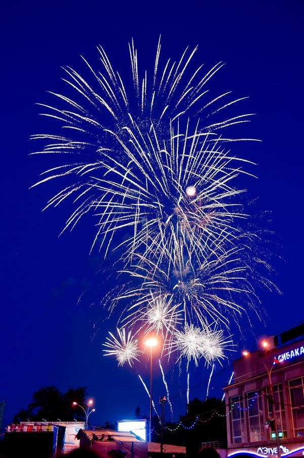Festive Night Beautiful Fireworks Hd Picture 20 Free Download