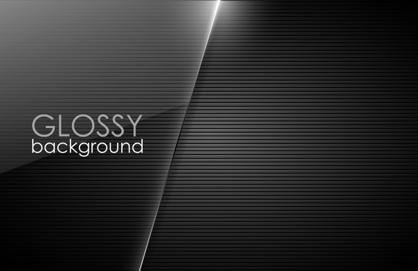 Glossy Black Background Vector 01 Vector Background Free