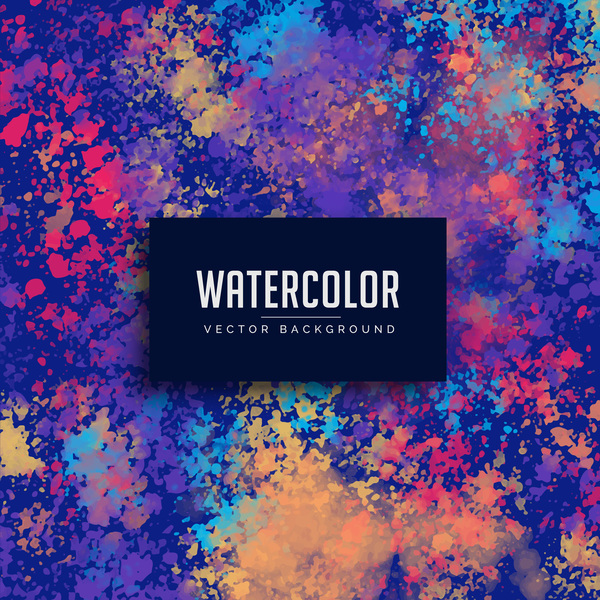 Grunge watercolor vector background 02