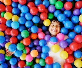 Happy laughing children HD picture