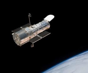 In orbit satellite Stock Photo 03
