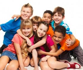 Intimate kids Stock Photo