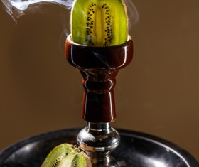 Kiwi hookah Stock Photo 01