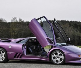 Lamborghini Diablo series Stock Photo