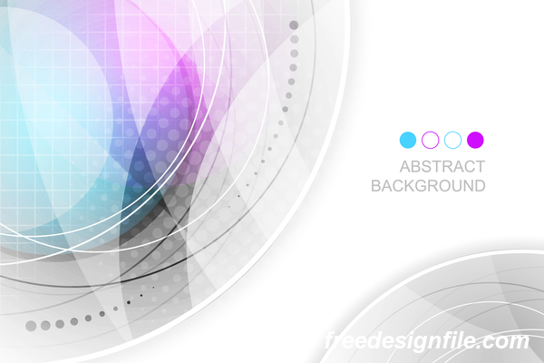 Light color abstract vector background 07
