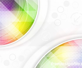 Light color abstract vector background 09