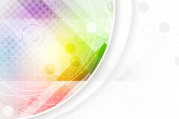 Light Color Abstract Vector Background 10 Vector