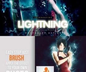 Lightning Photoshop Action