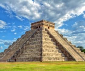 Maya cultural relics Stock Photo
