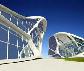 Modeling peculiar architecture Stock Photo 10
