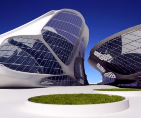 Modeling peculiar architecture Stock Photo 11