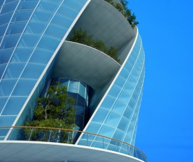 Modeling peculiar architecture Stock Photo 12