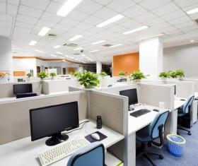 Neat office Stock Photo