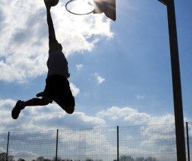 Practice dunk HD picture