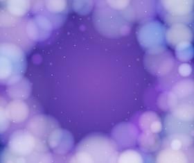 Purple gentle bokeh vector backgrounds