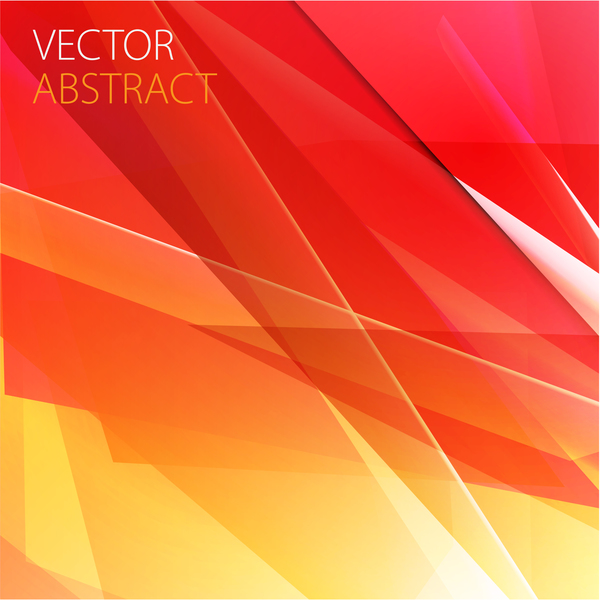 red with yellow abstract background vector vector