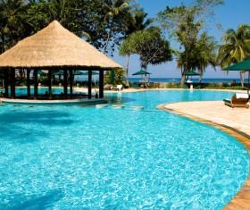 Scenic Resort Stock Photo