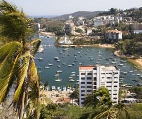 Seaside City Acapulco Stock Photo 02