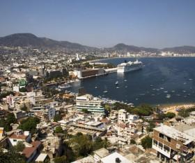 Seaside City Acapulco Stock Photo 03
