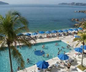 Seaside City Acapulco Stock Photo 04