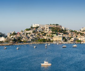 Seaside City Acapulco Stock Photo 09