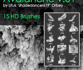 Shades Avalanche Photoshop Brushes