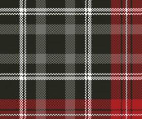 Tartan pixel plaid seamless fabric texture vector