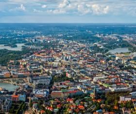 The beautiful city of Helsinki Stock Photo 03