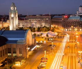 The beautiful city of Helsinki Stock Photo 04