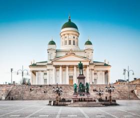 The beautiful city of Helsinki Stock Photo 05