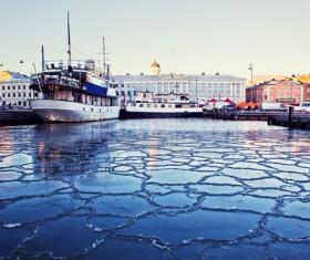 The beautiful city of Helsinki Stock Photo 06