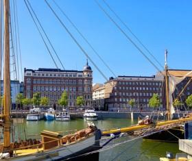 The beautiful city of Helsinki Stock Photo 07