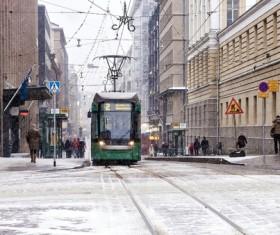 The beautiful city of Helsinki Stock Photo 09