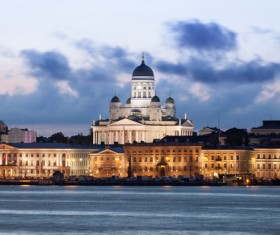 The beautiful city of Helsinki Stock Photo 10