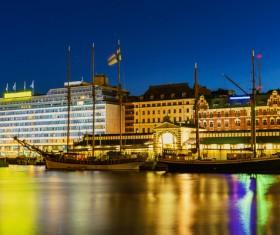 The beautiful city of Helsinki Stock Photo 11