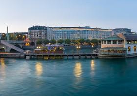 Tourist city of Geneva Stock Photo 05