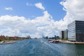 Tourist city of the Netherlands Stock Photo 03