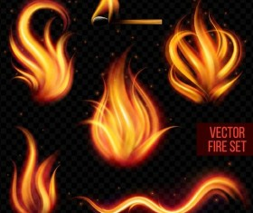 Vector fire set 03